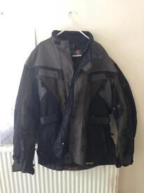 Waterproof exero motorcycle jacket