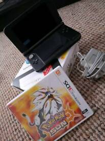 Nintendo 3DS Xl + Pokemon Sun