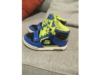 Boys high top sketchers size 11