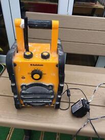 Audio sonic work radio from b&q