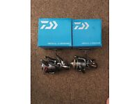 New Daiwa Regal Z 2500br and Daiwa Regal Z 4000br