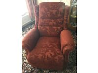 Electric Vale Rise Recliner Armchair