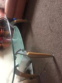 Coffee table glass table