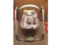 Ingenuity baby swing with music and vibrations