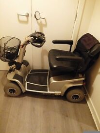 Selling scooter in good working order with wheelchair. Can be sold separately pick up only