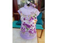 Child's chinese dress (new)