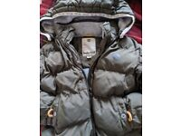 Boys timberland coat size 3