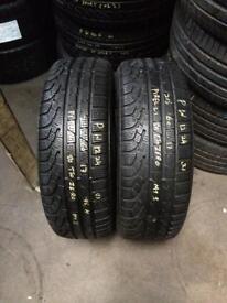 2 PW 205 65 17(96H) Pirelli Sottozero Winter 210 Serie II M+S Tread 5.0mm-6.0mm