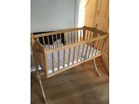 FREE swinging baby crib