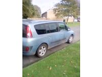 Renault grand espace 2.2 dci manual 7 seater