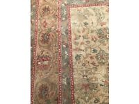Pure wool rug for sale measuring 274cm by 366cm