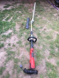 Electric long reach hedge cutter (New)