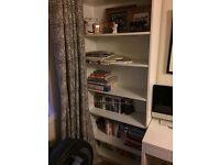 White bookcase (ikea billy)