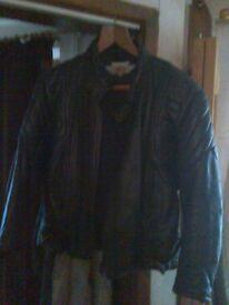 motorbike jacket and pants