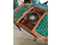 Beautifully crafted quality multi-games table - antique effect