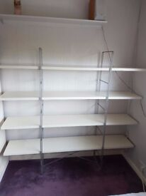 Shelving Unit (Ikea) - 4 shelves with supporting framework