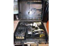 Dewalt 18v Combi Hammer Drill DC725 with Battery & Charger + Case