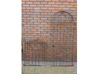 Two Metal Garden Gates
