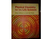 Physical Chemistry for the Life Sciences (Atkins, de Paula) 2006 Hardcover