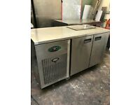Foster commercial preparation bench fridge