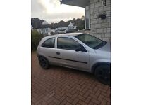 Vauxhall Corsa Silver - in working condition but also good for parts