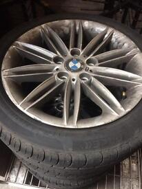 BMW 1 3 5 series m sport alloy wheels