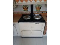Oil fired aga. Recently serviced