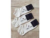 6 pairs Calvin Klein socks White Size:6-10 Eu:40-44 For Men
