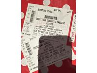2 x Pixies tickets