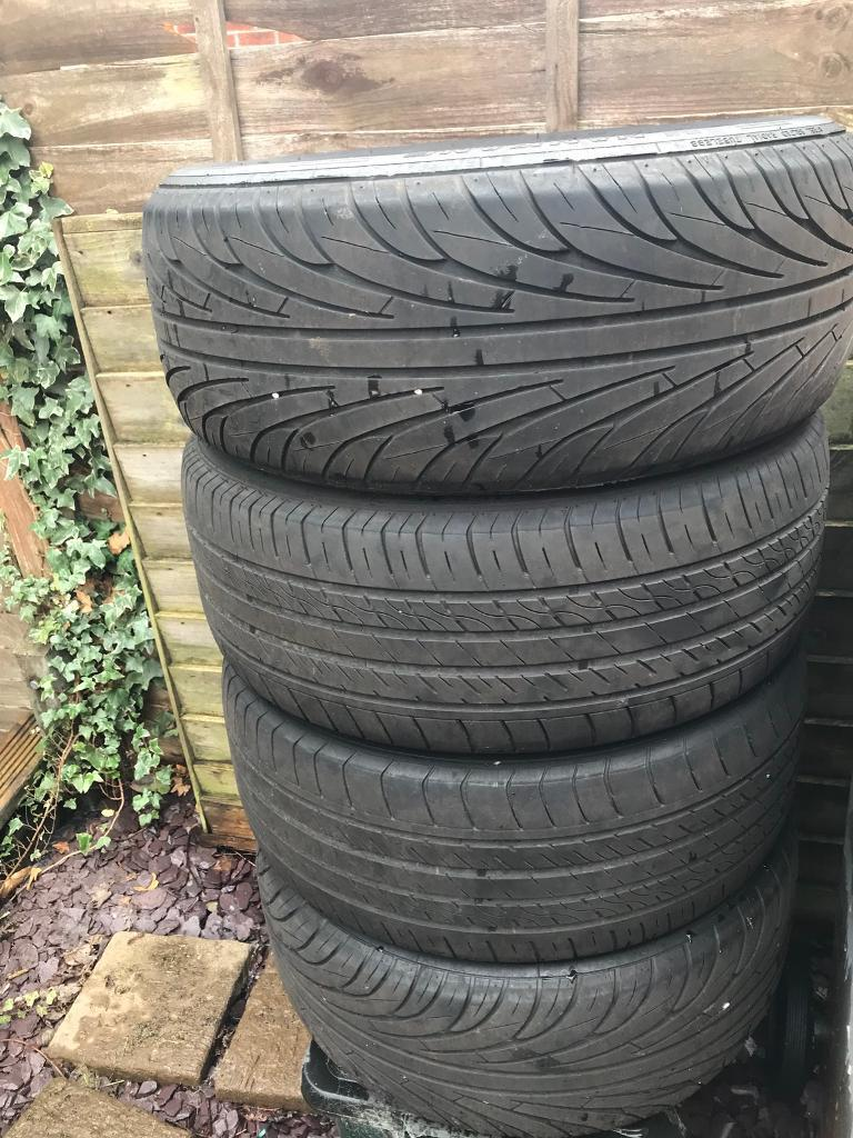 FS: 4 x 215/55/r16 tyres