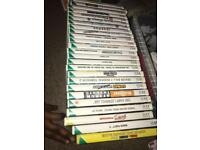 Nintendo Wii with 25 games and numerous controllers