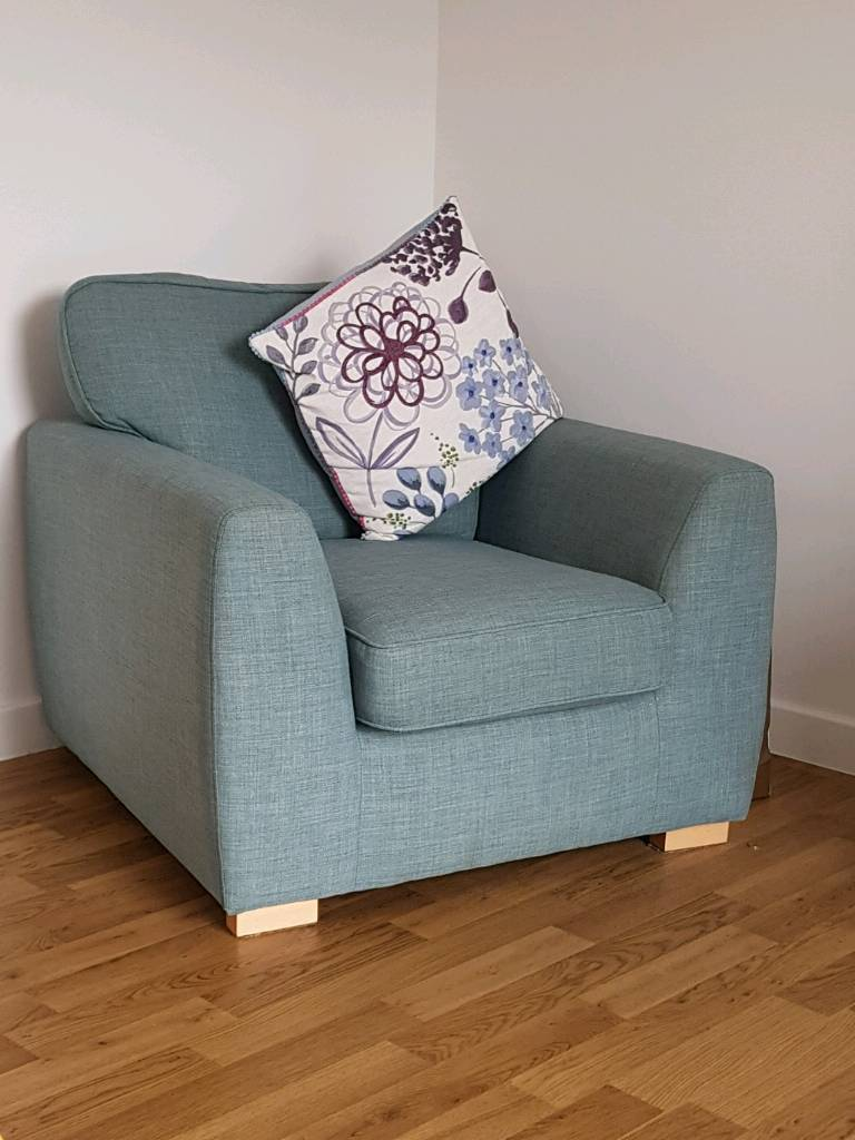 3 Seater Sofa And Single Comfy Chair