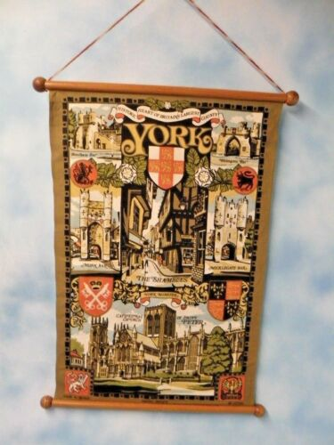 York England Historic Heart Of Britain Souvenir Banner Flag
