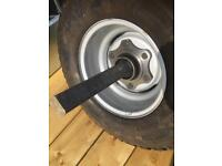 Trailer stub axles farm trailer silage trailer farm machinery wheels agri trailer wheels