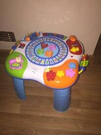 Toddler activity table toy