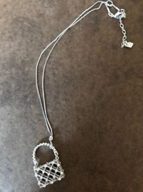 Genuine Silver & Swarovski Necklace