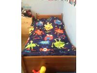 Ikea toddler/children's bed and mattress
