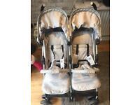My Babiie Billie Faires twin stroller