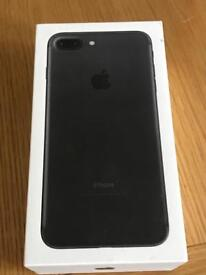 iPhone 7 Plus 32gb on EE and extras. Warranty until October.