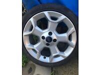 Ford KA titanium alloy wheels