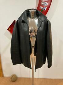 GANT heavyweight leather coat