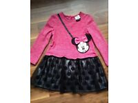 Minnie Mouse girls dress 2-3 years