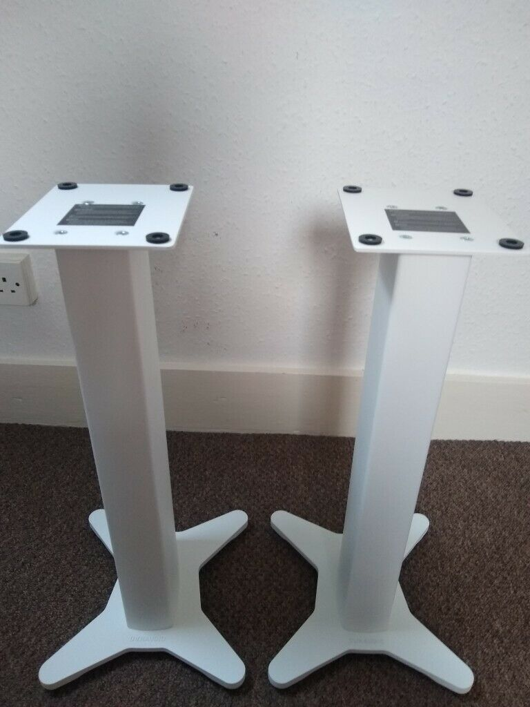 DYNAUDIO STANDS 10 (pair) White in mint condition £200 | in Lossiemouth,  Moray | Gumtree