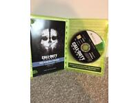 Used Call Of Duty Ghosts Xbox 360 Game