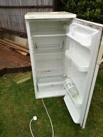 Fridge. Good for garage and working