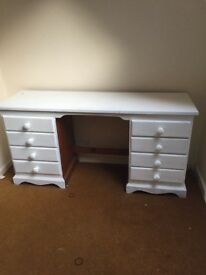 White dresser/ dressing table