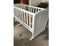 Brand new swinging crib