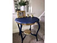 Restored Vintage style table in FRENCHIC paint