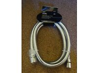 New Tagged Stainless Steel 1.5m Shower Hose bathroom Only £3