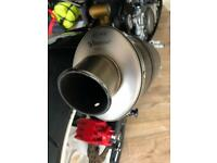 Zx10 AKRAPOVIC EXHAUST CAN